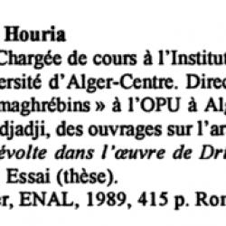 La littérature féminine de langue française au Maghreb -