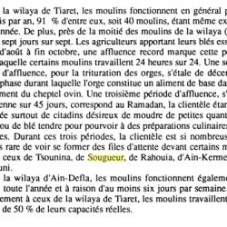 La filière du blé en Algérie