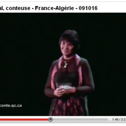 Extrait tourné à Montréal au Gesù -Nora Aceval