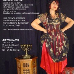 Soirée Contes avec dédicaces  avec Nora Aceval