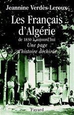 Titre : Les Français d'Algérie  Auteur : Jeannine Verdès-Leroux dans Blogueurs 9782213640822_GRANDE