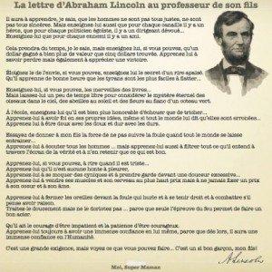 Lettre d'Abraham Lincoln au professeur de son fils  480525_350666541686337_429216341_n-300x300