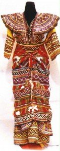 La couture de la robe kabyle en tête des activités dans Contributions robe-kabyle-119x300