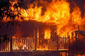Le mektoub et les incendies dans Ahmed Ben Alam incendie