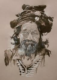 Un tibétain sahraoui au kosovo dans M'hammedi Bouzina Med tibetain